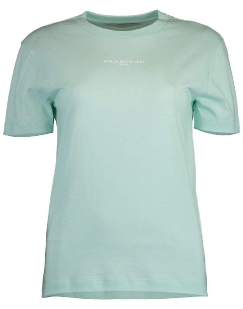 STELLA MCCARTNEY CLOTHINGTOPT-SHIRT Aquamarine T-Shirt