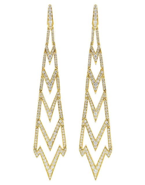STEPHEN WEBSTER JEWELRYFINE JEWELEARRING YLWGOLD Lady Stardust Long Earrings