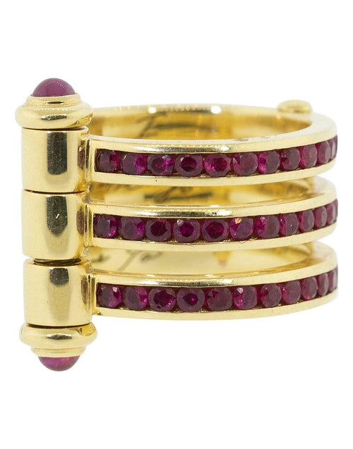 STEPHEN WEBSTER JEWELRYFINE JEWELRING YLWGOLD / 5.75 Promise to Love You Ruby Ring