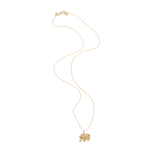 SYDNEY EVAN JEWELRYFINE JEWELNECKLACE O YLWGOLD Diamond Elephant Necklace