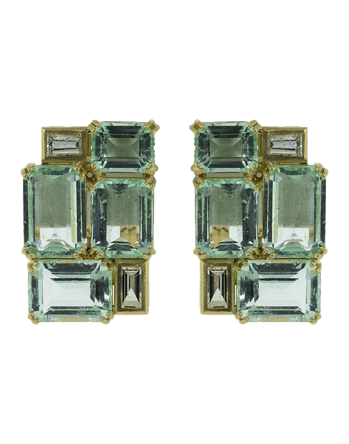 SYLVA & CIE JEWELRYFINE JEWELEARRING YLWGOLD Colombian Emerald Earrings