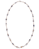 SYLVA & CIE JEWELRYFINE JEWELNECKLACE O WHTGOLD Faceted Opal Wheel Bead Necklace