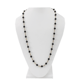 SYLVA & CIE JEWELRYFINE JEWELNECKLACE O YLWGOLD Black Onyx Bead Necklace