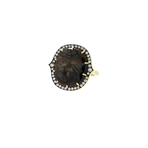 SYLVA & CIE JEWELRYFINE JEWELRING YLWGOLD / 6.5 Golden Sapphire Ring