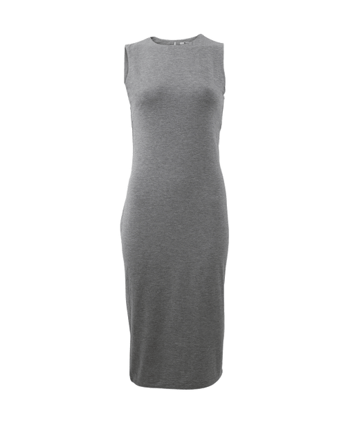 T BY ALEXANDER WANG CLOTHINGDRESSCASUAL Back Cut Out Fitted Dress