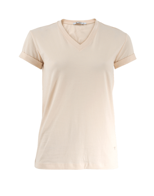 T BY ALEXANDER WANG CLOTHINGTOPT-SHIRT Cuff Sleeve T-Shirt