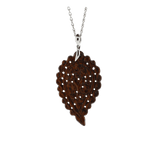 TAMARA COMOLLI JEWELRYFINE JEWELPENDANT WHTGOLD Medium Snake Wood India Pendant