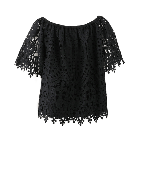 TEMPERLEY LONDON CLOTHINGTOPMISC Berry Lace Top