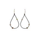 TODD REED JEWELRYFINE JEWELEARRING YLWGOLD Openwork Teardrop Diamond Earrings