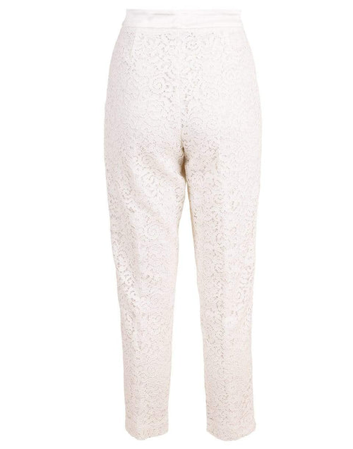 TWIN-SET CLOTHINGPANTMISC Lace Cropped Pant