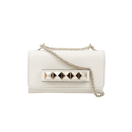 VALENTINO HANDBAGCLUTCHES IVORY Va Voom Small Flap Bag
