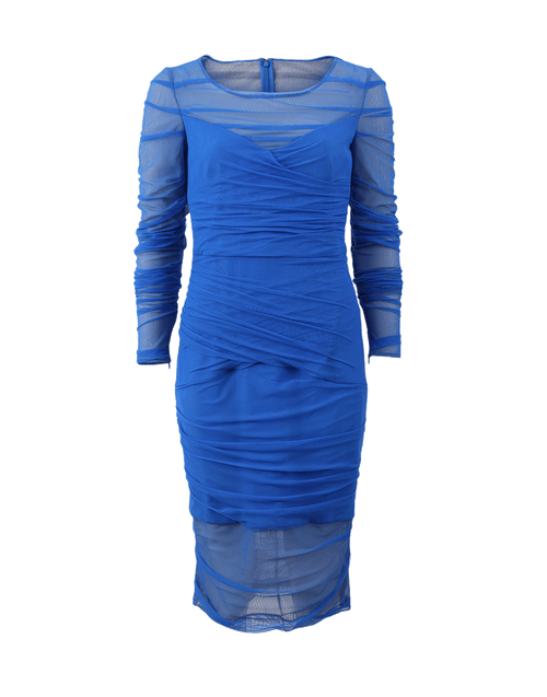VERSACE CLOTHINGDRESSEVENING BLUE / 44 Tulle Dress