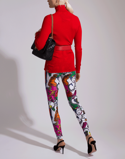 VERSACE CLOTHINGPANTSLIM FIT Pegasus Print Leggings