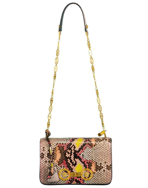 VERSACE HANDBAGSHOULDER PINK Icon Medium Shoulder Bag