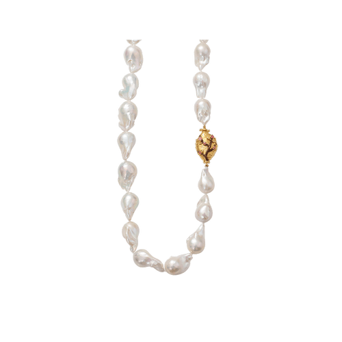 VICTOR VELYAN JEWELRYFINE JEWELNECKLACE O YLWGOLD Cherry Blossom Pearl Necklace