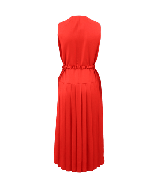VICTORIA BECKHAM CLOTHINGDRESSCASUAL Zip Front Dress