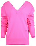 VICTORIA BECKHAM CLOTHINGTOPKNITS Double V-Neck Jumper