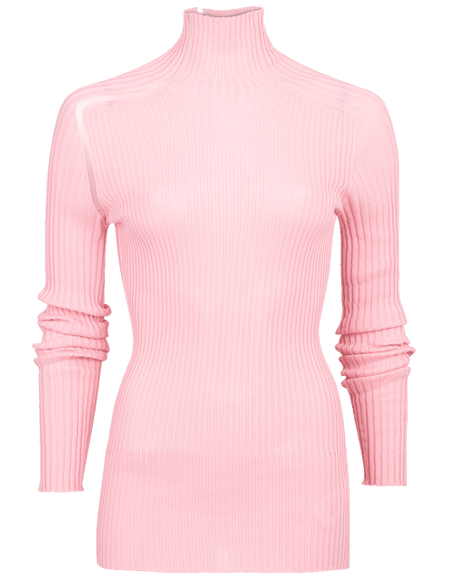 VICTORIA BECKHAM CLOTHINGTOPKNITS Ladder Detail Rib Top