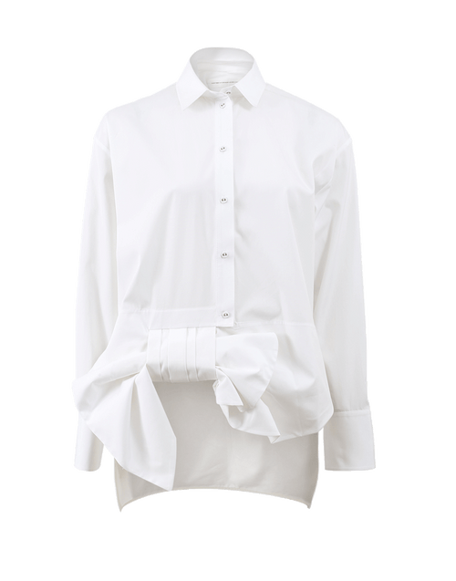 VICTORIA BY V. BECKHAM CLOTHINGTOPBLOUSE Assymetrical Bow Shirt