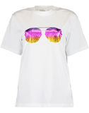 VICTORIA VICTORIA BECKHAM CLOTHINGTOPT-SHIRT Sunset Sunglasses Tee