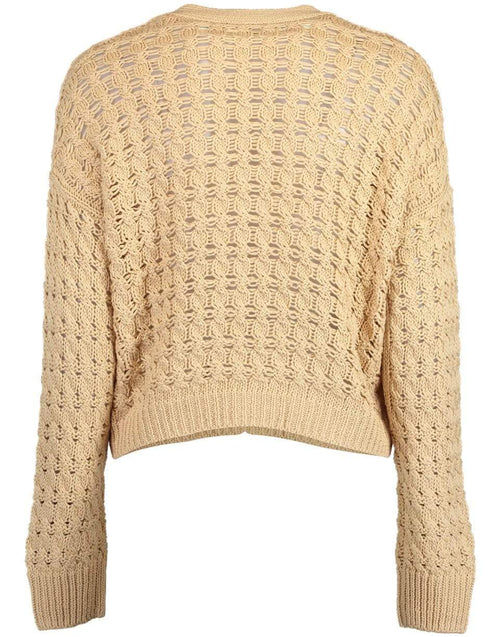 VINCE CLOTHINGTOPCARDIGAN Vanilla Open Cable Cardigan
