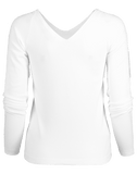 VINCE CLOTHINGTOPT-SHIRT Double V-Neck Pullover