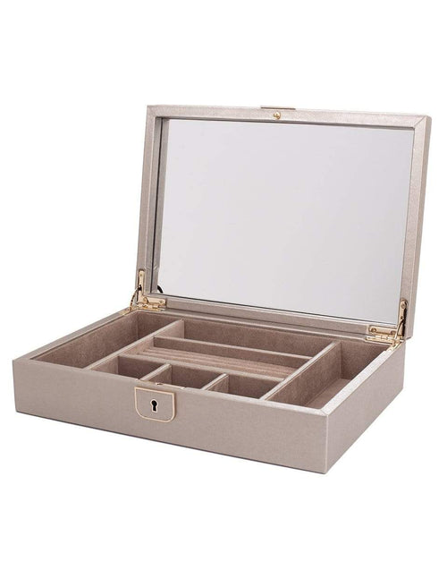 WOLF EST 1834 ACCESSORIEGIFT PEWTER Palermo Medium Jewelry Box