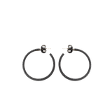 YOSSI HARARI JEWELRYFINE JEWELEARRING GILVER Lilah Pave Hoop Earrings