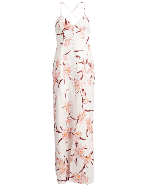 ZIMMERMANN CLOTHINGDRESSCASUAL Corsage Orchid Slip Dress
