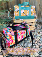 The Floral Duffy Bag