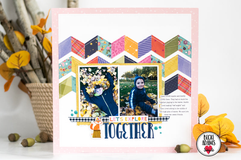 Fall Crafting with Hello Adventure