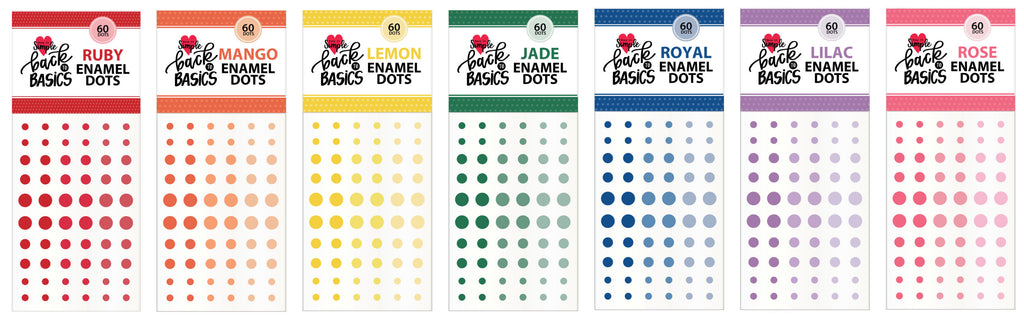 Introducing Back to Basics Enamel Dots!