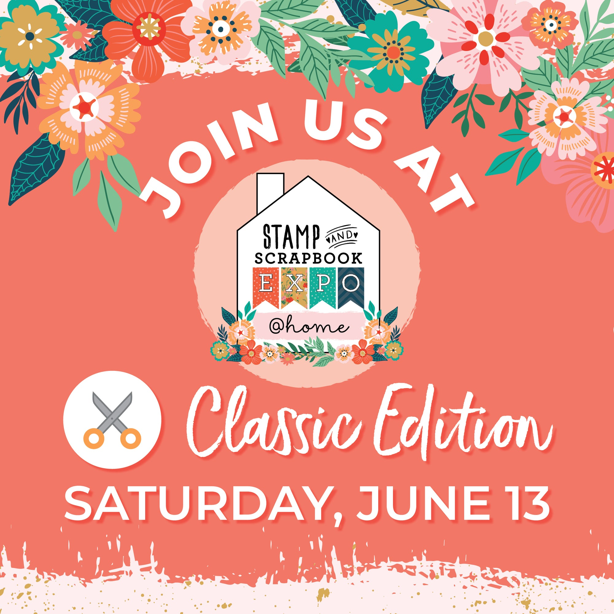 Stamp & Scrapbook Expo @Home Event