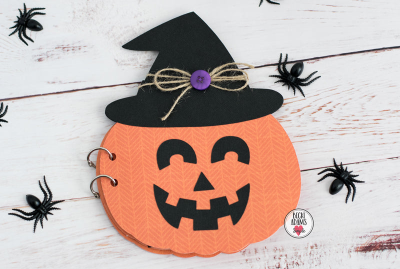 Spooktacular Pumpkin Mini Album