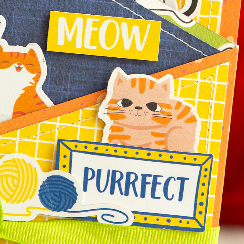 "A ""Purrfect"" Z Fold Card with Max & Daisy"