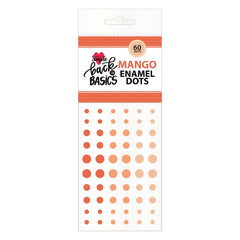 Back To Basics Mango Enamel Dots