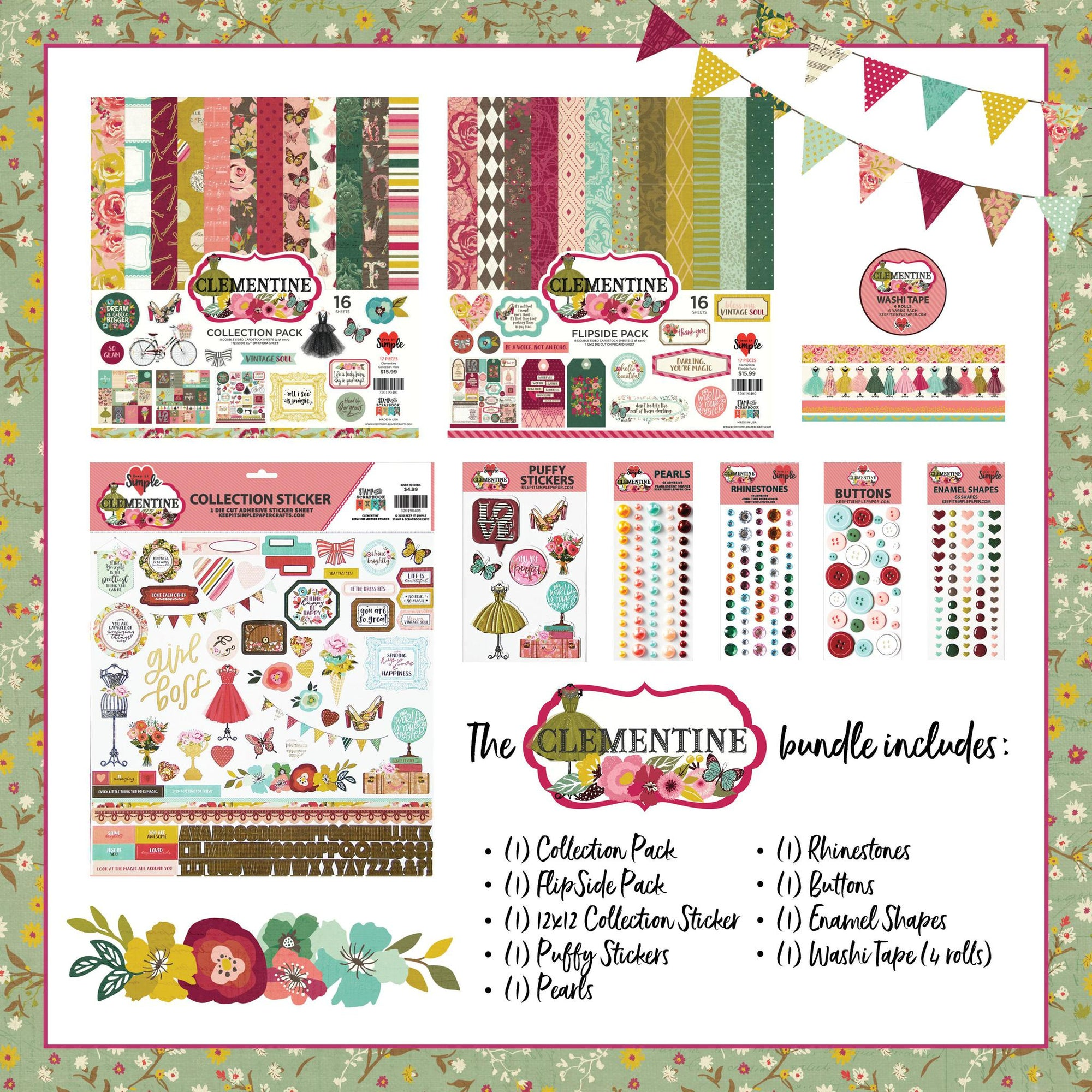 Clementine Collection Bundle