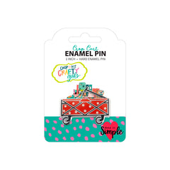 Crafty Girls Enamel Pins - Crop Cart