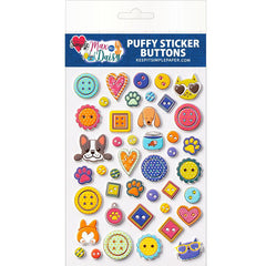 Max & Daisy Puffy Buttons