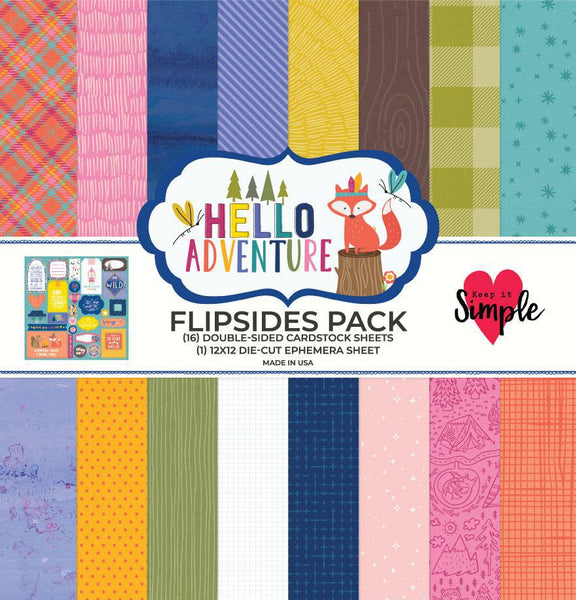 Hello Adventure Flip Sides Pack