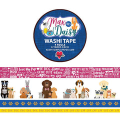 Max & Daisy Washi Tape 4 pack
