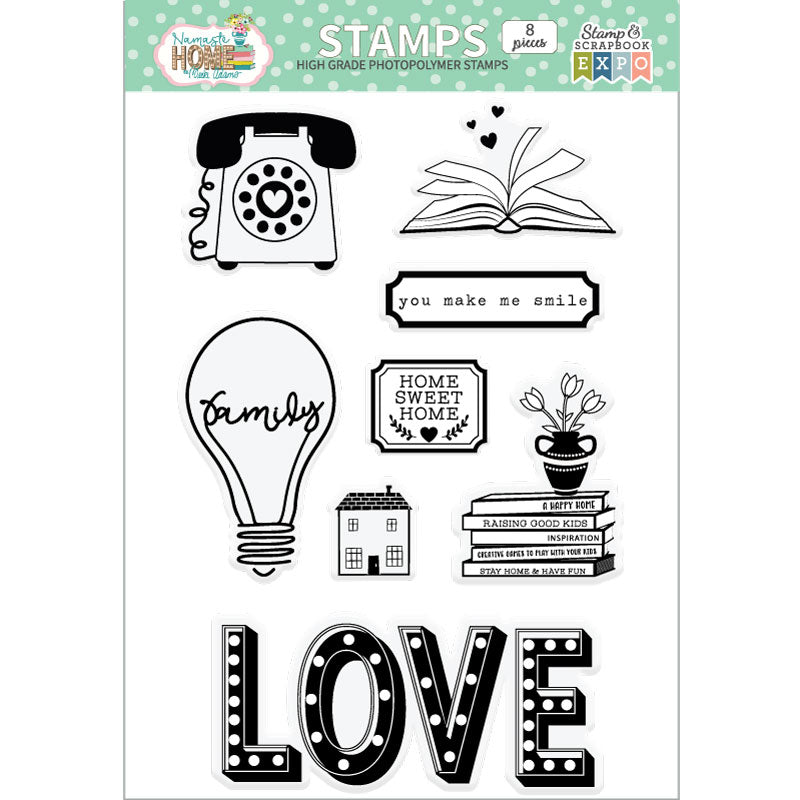 Namaste Home Stamp Set