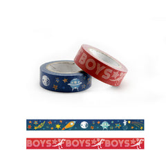 Boys Boys Boys Washi Tape