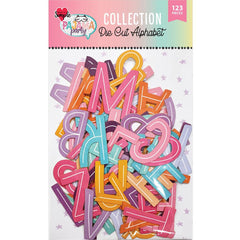 Pajama Party Die Cut Alphabet