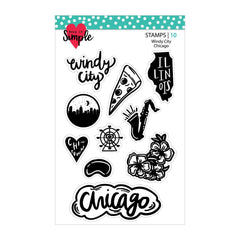Windy Cindy: Chicago 4x6 Stamp