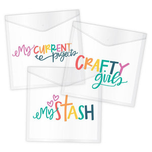 Crafty Girls Paper Keepers - 3 Pack
