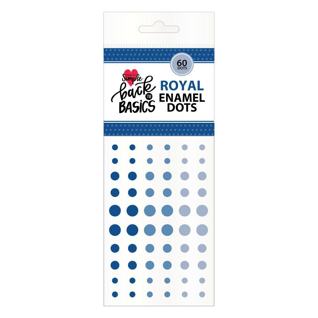Back To Basics Royal Enamel Dots
