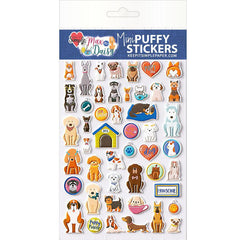 Max & Daisy Mini Puffy Stickers Puppies