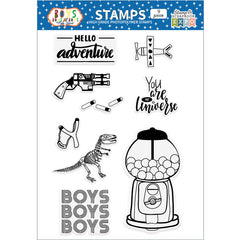 Boys Boys Boys Stamp Set