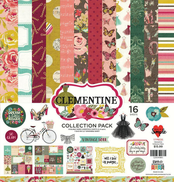 Clementine Collection Pack